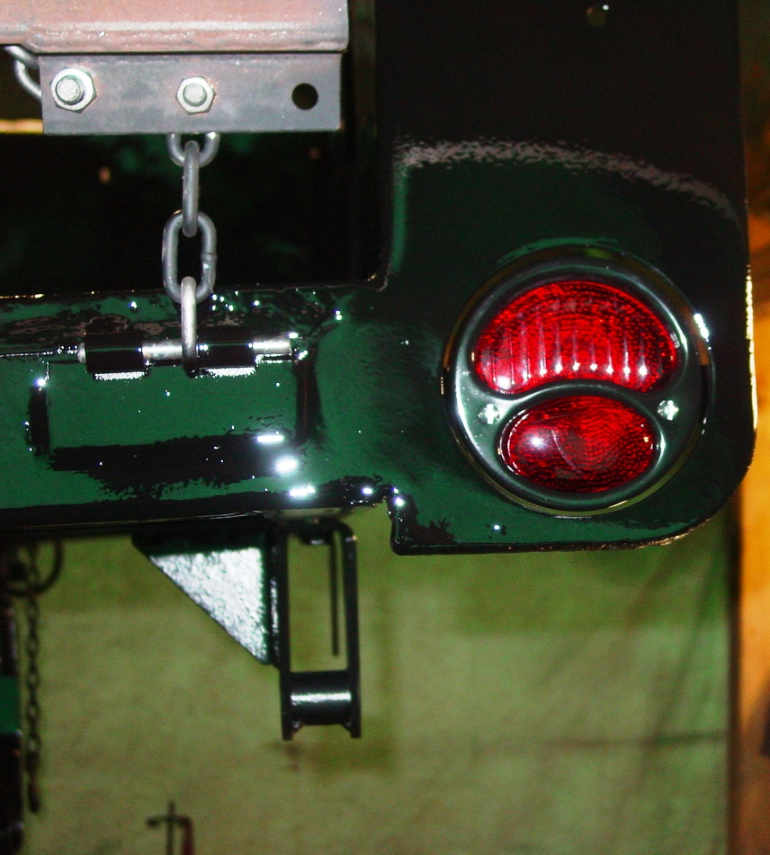 Bantam T3 C Wiring Harness Project Gpw The Finished Model A Tail Lamp Very Nice And Readily Available Alternative To Arrow