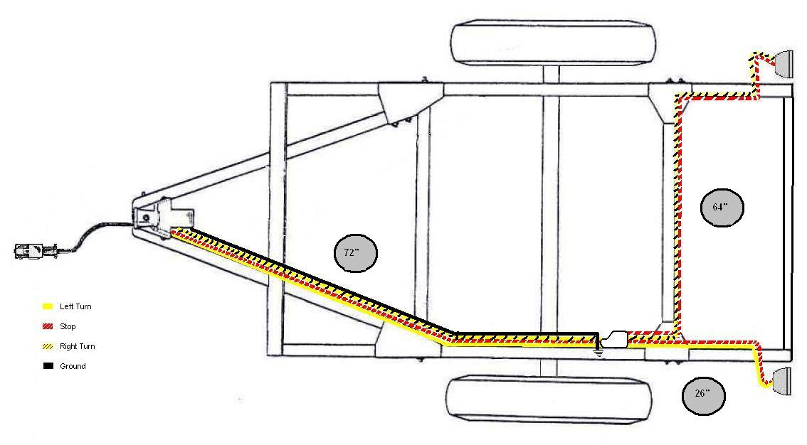 Wiring Diagram For Cargo Trailer Interior Lights : Bantam t c wiring harness project